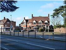 TQ0682 : The Vine Inn, Hillingdon by Robin Webster