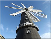 TF1443 : The eight sailed windmill at Heckington by Richard Hoare