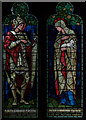 TQ5643 : Stained glass window, St Lawrence's church, Bidborough by Julian P Guffogg
