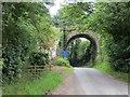 NY4447 : Railway bridge, Birkthwaite by Richard Webb