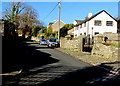 SS8779 : Christmas Eve sunshine and shadow in Wind Street, Laleston  by Jaggery