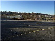 SJ8545 : Newcastle-under-Lyme: former car dealership (3) by Jonathan Hutchins