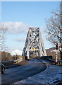 NM9134 : The approach to Connel Bridge by The Carlisle Kid