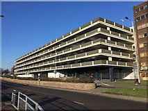 SJ8445 : Newcastle-under-Lyme: Midway multi-storey car park by Jonathan Hutchins