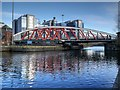 SJ8196 : Manchester Ship Canal, Trafford Road Swing Bridge by David Dixon