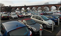 SO8455 : Croft Road pay & display car park, Worcester by Jaggery