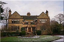 SK2572 : Baslow Hall by Peter Barr