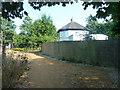 TQ0181 : Footpath by Park Stile Lodge by Robin Webster