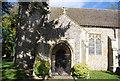 TG0610 : Entrance porch, Church of All Saints' by N Chadwick