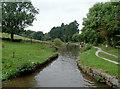 SJ9686 : Hollinwood Lane Narrows, south-east of Marple, Stockport by Roger  Kidd