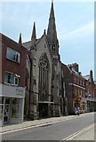SY6990 : The United Church in Dorchester by Jaggery