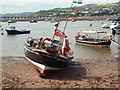 SX9372 : Teign Ferries 4 and 5, Teignmouth harbour by Robin Stott