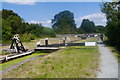 SJ2105 : Belan Top Lock, Montgomery Canal by Phil Champion