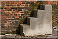 TQ1478 : Mounting Block, Osterley Park House, Isleworth by Christine Matthews