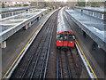 TQ1477 : Osterley Station, Great West Road, Isleworth by Christine Matthews