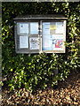 TM1141 : Copdock & Washbrook Village Notice Board by Adrian Cable