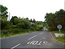 J0225 : The continuation of Sturgan Brae beyond its cross roads with Newtown Road by Eric Jones