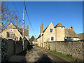 SP5019 : Church Lane, Kirtlington by Des Blenkinsopp