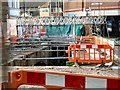SJ8990 : Lancashire Bridge Exposed by Gerald England
