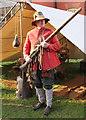 SJ6552 : Nantwich Musketeer by Jeff Buck