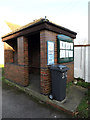 TM1245 : Bus Shelter off Lower Street by Adrian Cable
