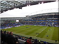 TQ3508 : Amex Stadium - view towards South Stand by Paul Gillett