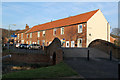 SK5680 : Cottages at Haggonfields Lock by Alan Murray-Rust