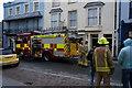 SN1300 : Emergency Services on St Julian's Street, Tenby by Ian S