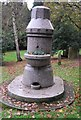 TQ5840 : Water Fountain, Woodbury Park Cemetery by N Chadwick