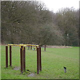 SE2436 : Outdoor gym equipment, Bramley Fall Park by Rich Tea