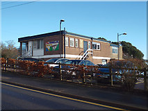 SX9473 : The Eastcliff Centre in the Dawlish Road car park, Teignmouth by Robin Stott