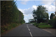 TG1509 : Bawburgh Rd, Hart's Lane junction by N Chadwick