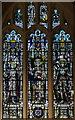 TQ5446 : Hine memorial window, St Mary's church, Leigh by Julian P Guffogg