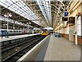 SJ8497 : Manchester Piccadilly Platform 1 by Gerald England