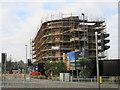TQ7769 : Construction beside Pier Road by David Anstiss