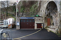SN1300 : The Tenby Inshore Lifeboat Station, Tenby Harbour by Ian S