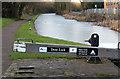 SK5779 : Frozen pound above Deep Lock by Alan Murray-Rust