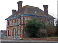SX9291 : Exeter Gasworks - former manager's house by Chris Allen