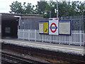 TQ1889 : Queensbury Station platform by David Howard
