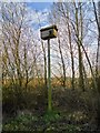 TF6421 : Bird box by Martin Pearman