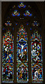 TQ8109 : Apse E. Stained glass window, Holy Trinity church, Hastings by Julian P Guffogg