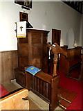 TM4261 : St.Lawrence Church Pulpit by Adrian Cable