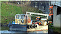 "J3471 : The ""Cuan Spirit"", River Lagan, Stranmillis, Belfast - January 2015(1) by Albert Bridge"