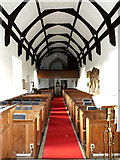 TM4160 : Inside of St.Mary the Virgin Church, Friston by Geographer