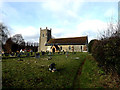 TM4160 : St.Mary the Virgin Church, Friston by Adrian Cable