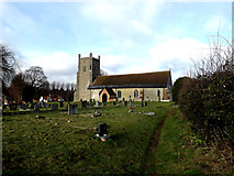 TM4160 : St.Mary the Virgin Church, Friston by Geographer