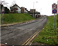 SO2800 : Entrance slip road to the A472, Pontypool by Jaggery