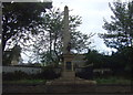 SE3605 : War Memorial on Doncaster Road by JThomas