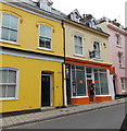 SX8751 : Yellow, orange and pink in Dartmouth by Jaggery