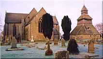 SO3958 : Pembridge Church and Bell Tower by paul wood